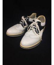 PRADA(プラダ)の古着「ゴルフシューズ」 ホワイト