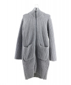 UNUSED(アンユーズド)の古着「ニットコート」|グレー