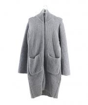 UNUSED(アンユーズド)の古着「ニットコート」 グレー