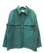 FILSON GARMENT(フィルソンガーメント)の古着「ウールジャケット」|グリーン