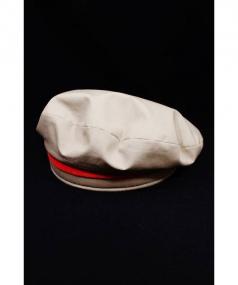 HERMES(エルメス)の古着「スウェードラインベレー帽」|ベージュ