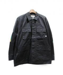 FACETASM(ファセッタズム)の古着「リブM65ジャケット」 ブラック