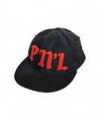 PEEL&LIFT(ピールアンドリフト)の古着「コーデュロイキャップ」 ブラック