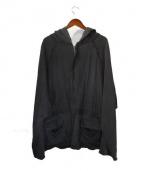 HAIDER ACKERMANN(ハイダーアッカーマン)の古着「オーバーシルエットパーカー」|ブラック