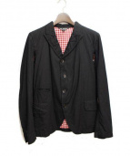 BLACK COMM des GARCONS(ブラックコムデギャルソン)の古着「テーラードジャケット」|ブラック
