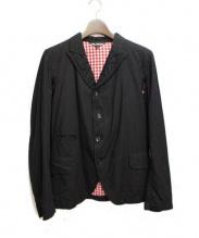 BLACK COMM des GARCONS(ブラックコムデギャルソン)の古着「テーラードジャケット」 ブラック