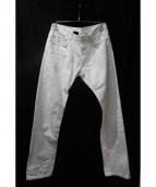 DIOR HOMME(ディオールオム)の古着「デニムパンツ」|ホワイト