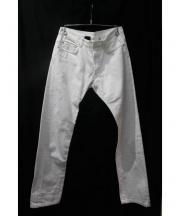 DIOR HOMME(ディオールオム)の古着「デニムパンツ」 ホワイト
