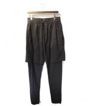 3.1 phillip lim(3.1 フィリップリム)の古着「ドッキングパンツ」|ブラック