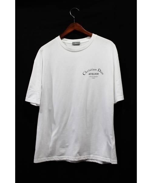 low priced 0c349 f6b23 [中古]DIOR HOMME(ディオールオム)のメンズ トップス アトリエロゴプリントTシャツ