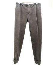 INCOTEX(インコテックス)の古着「ジャージーパンツ」|チャコールグレー