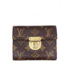 LOUIS VUITTON(ルイ・ヴィトン)の古着「ポルトフォイユ コアラ/3つ折り財布」 ブラウン