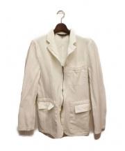 COMME des GARCONS HommePlus(コムデギャルソンオムプリュス)の古着「ジップジャケット」|ホワイト