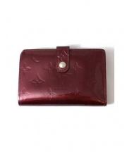 LOUIS VUITTON(ルイヴィトン)の古着「ポルトフォイユ・ヴィエノワ/2つ折り財布」|ワインレッド