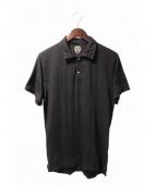 CHROME HEARTS(クロムハーツ)の古着「クロスボールポロシャツ」|ブラック