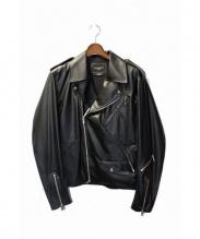 Mastermind HOMME(マスターマインドオム)の古着「ライダースジャケット」|ブラック