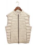 HERNO(ヘルノ)の古着「中綿ベスト」|アイボリー