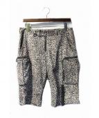 ISAMU KATAYAMA BACKLASH(イサムカタヤマ バックラッシュ)の古着「レザーハーフパンツ」|グレー