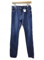 HYKE(ハイク)の古着「デニムパンツ」|インディゴ