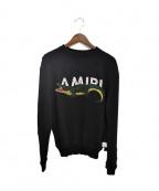 AMIRI(アミリ)の古着「アリゲータースウェットシャツ」|ブラック