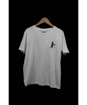 Saint Laurent Paris(サンローランパリ)の古着「キャットTシャツ」 ホワイト