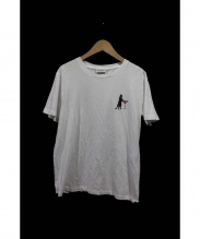 Saint Laurent Paris(サンローランパリ)の古着「キャットTシャツ」|ホワイト