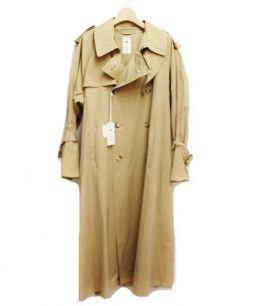 MIHARA YASUHIRO(ミハラヤスヒロ)の古着「オーバーサイズトレンチコート」 ベージュ