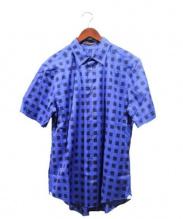 LOUIS VUITTON(ルイ・ヴィトン)の古着「マサイチェックシャツ」|ブルー