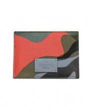 VALENTINO(ヴァレンティノ)の古着「カモフラージュ柄カードケース」|カーキ