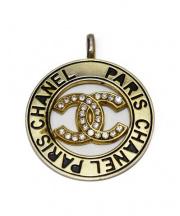 CHANEL(シャネル)の古着「ヴィンテージペンダントトップ」 シルバー