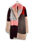 TARA JARMON(タラジャーモン)の古着「ラビットファーコート」