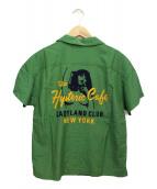 Hysteric Glamour(ヒステリックグラマー)の古着「半袖シャツ」 グリーン