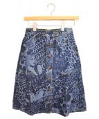 Hysteric Glamour(ヒステリックグラマー)の古着「デニムスカート」|ブルー