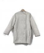 GUSHLOW&COLE(ガシュロウ&コール)の古着「ムートンコート」|グレー