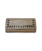 FENDI(フェンディー)の古着「長財布」|ライトグレー