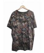 VALENTINO(ヴァレンティノ)の古着「総柄Tシャツ」|グレー