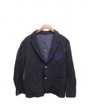 COMME des GARCONS HOMME(コムデギャルソンオム)の古着「ワッペン付テーラードジャケット」
