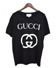 GUCCI(グッチ)の古着「18AW/GGロゴTシャツ」|ブラック