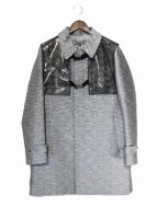 ANREALAGE(アンリアレイジ)の古着「PVC切替コート」