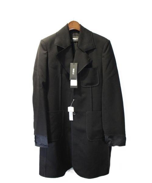 YANG LI(ヤン リー)YANG LI (ヤン リー) 16AW LIGHT  WEIGHT SERGED COAT ブラック サイズ:44 未使用品の古着・服飾アイテム