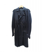 KRIS VAN ASSCHE(クリスヴァンアッシュ)の古着「トレンチコート」|ネイビー