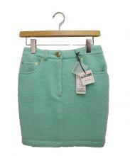 MOSCHINO(モスキーノ)の古着「ミニスカート」|グリーン