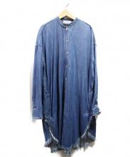 Acne studios(アクネストゥディオズ)の古着「デニムシャツワンピース」|ブルー