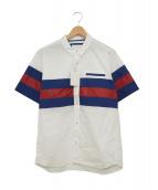 White Mountaineering(ホワイトマウンテニアリング)の古着「半袖シャツ」|ホワイト