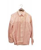 LOUIS VUITTON(ルイ・ヴィトン)の古着「モノグラムスターシャツ」|ホワイト