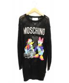 MOSCHINO(モスキーノ)の古着「×H&Mニットワンピース」