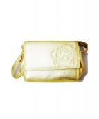 LOEWE(ロエベ)の古着「ショルダーバッグ」|ゴールド