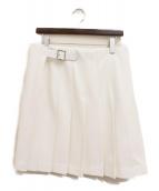 COMME des GARCONS HOMME PLUS(コムデギャルソンオムプリュス)の古着「PUレザースカート」