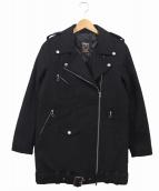 SCHOTT BROS.(ショットブロス)の古着「ライダースコート」|ブラック