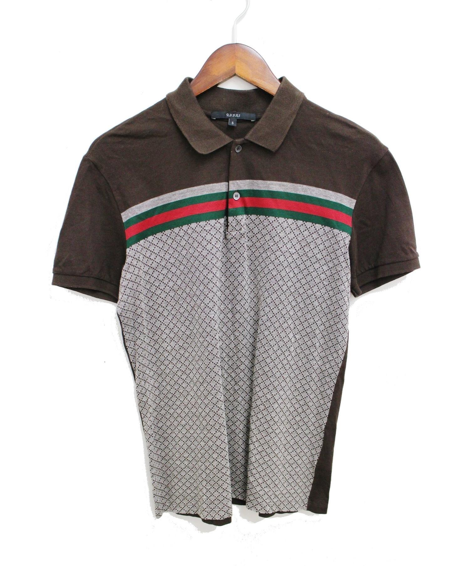 super popular 2efeb d52e8 [中古]GUCCI(グッチ)のメンズ シャツ(ブラウス) ポロシャツ
